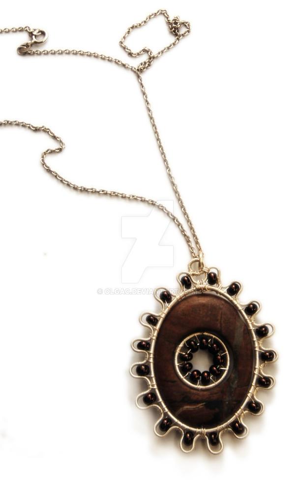 Flower pendant by OlgaC