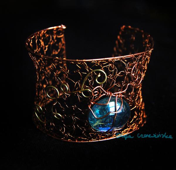 Copper cuff by OlgaC