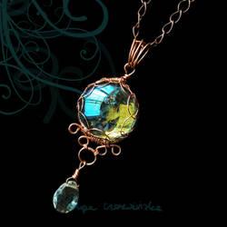 Aquamarine tear by OlgaC