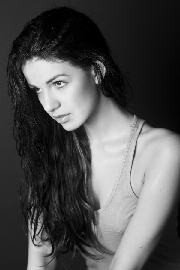 Julia wet hair by OlgaC