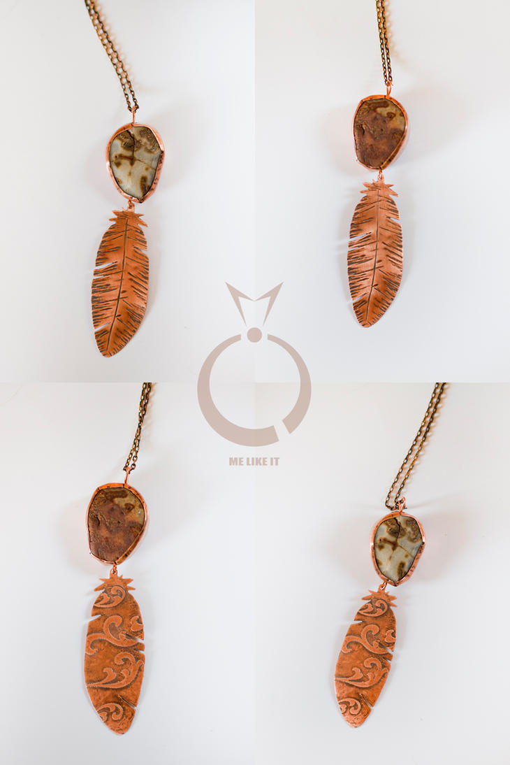 4 in 1 boho necklace by OlgaC