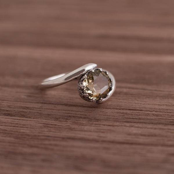 Citrine ring by OlgaC