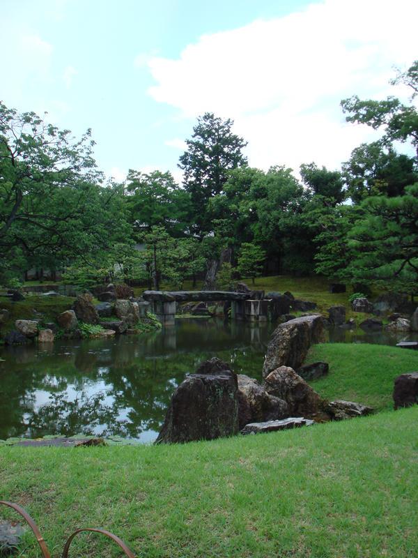 Beautiful japanese garden pond by shinababii on deviantart for Garden pond reddit