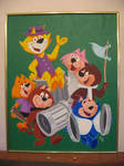 Top Cat and Gang painting