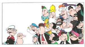 Popeye by Wildman by zombiegoon