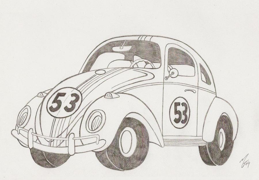 Herbie the Love Bug by zombiegoon on DeviantArt