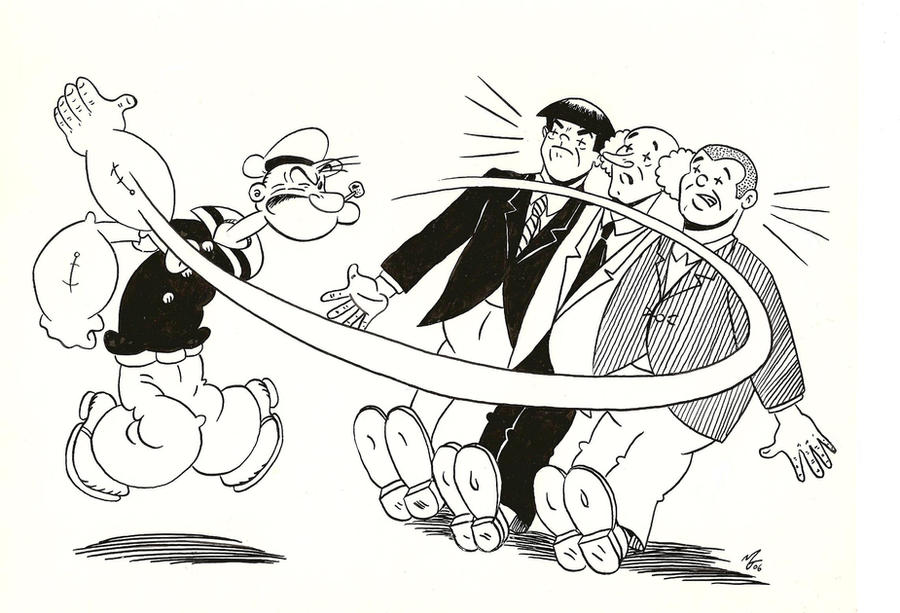 popeye coloring pages