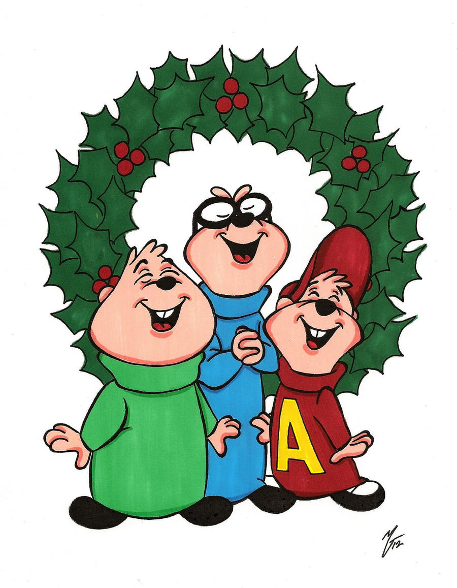 Alvin and The Chipmunks Christmas Time by zombiegoon on DeviantArt