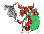 Rocky and Bullwinkle Christmas