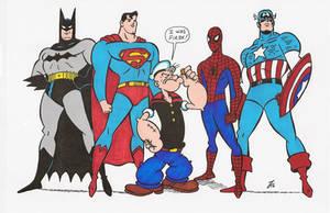 Popeye The First Super-hero