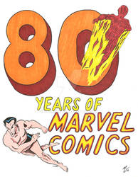 80 Years of Marvel Comics