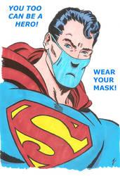Superman mask