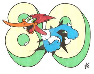 Woody Woodpecker 80th Anniversary