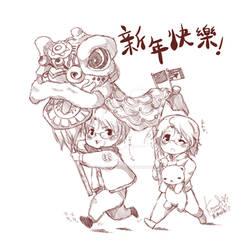 HETALIA :: CHINESE NEW YEAR by konoesuzumiya