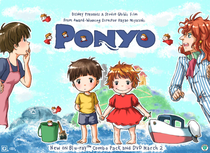 Ponyo Ponyo Ponyo by konoesuzumiya