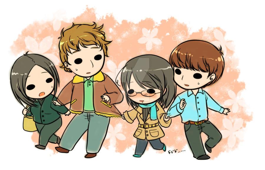 My friends by konoesuzumiya