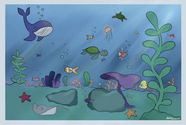Under the Sea by KeLou