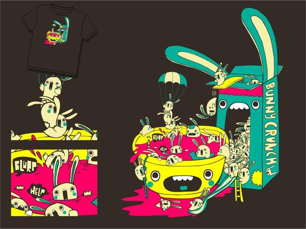 bunny crunch by loveshugah