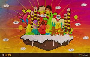candyland wallpaper 02 by loveshugah