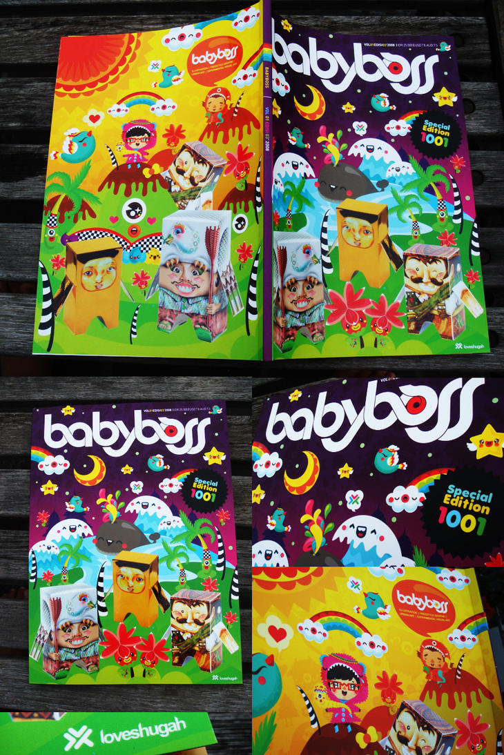 babyboss magz - cover by loveshugah