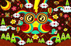 owlynight by loveshugah