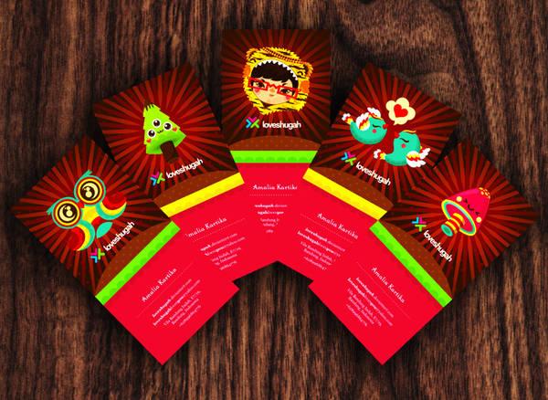 my cutie business card by loveshugah