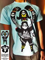 pirate ape by loveshugah