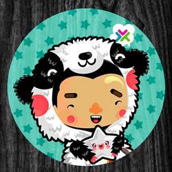 little panda boy by loveshugah