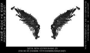 Metal Wing Extravagance Fx - G Adam Orosco