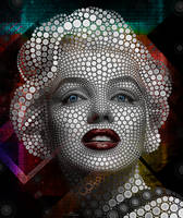 Marilyn Monroe - Ben Heine - Art without a brushFx