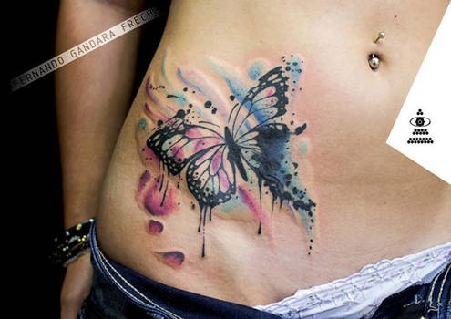 QUANTUM TATTOO MILANO - Butterfly