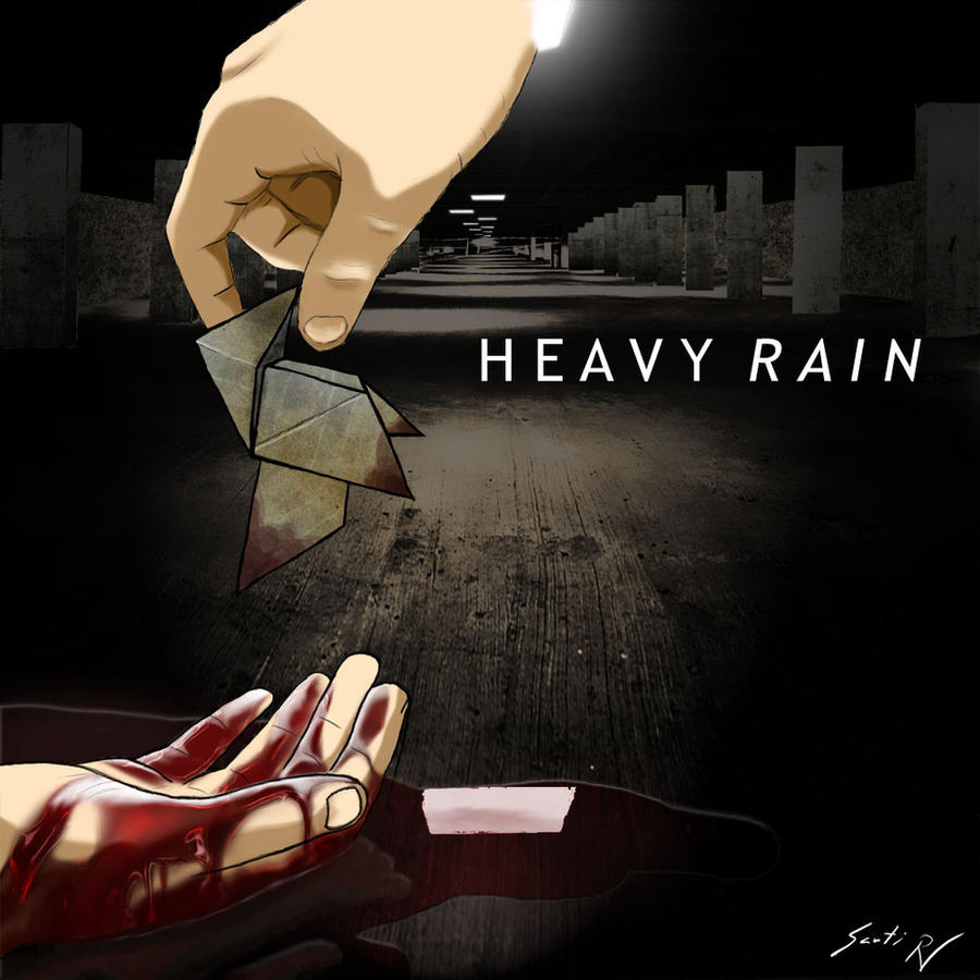 heavy rain origami killer by santiyo on deviantart