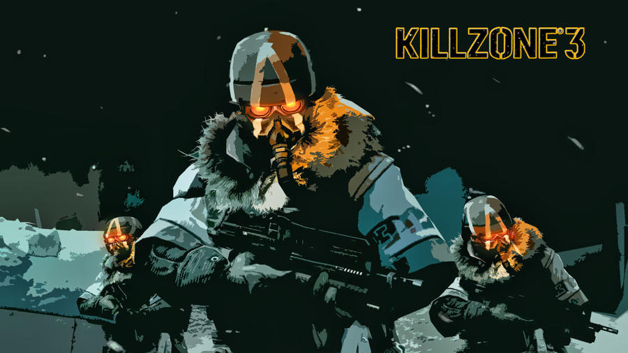 killzone 3 wallpaper. Killzone 3 Helghast Wallpaper