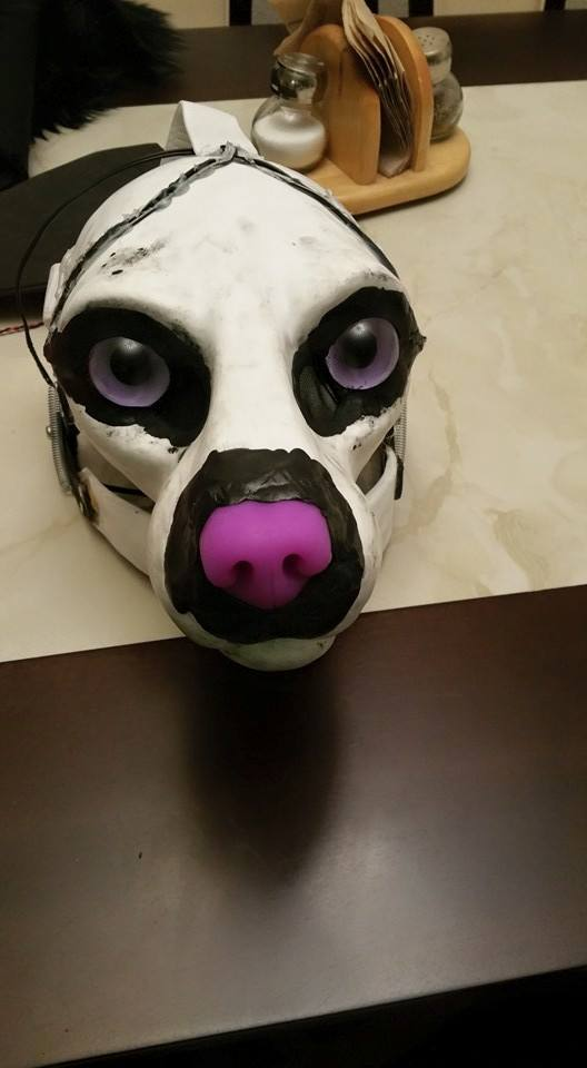Fursuit Partial Commission WIP by Zombietox