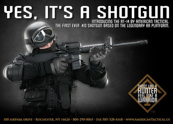 AT-14 Tactical Shotgun by Blaq-Unicorn