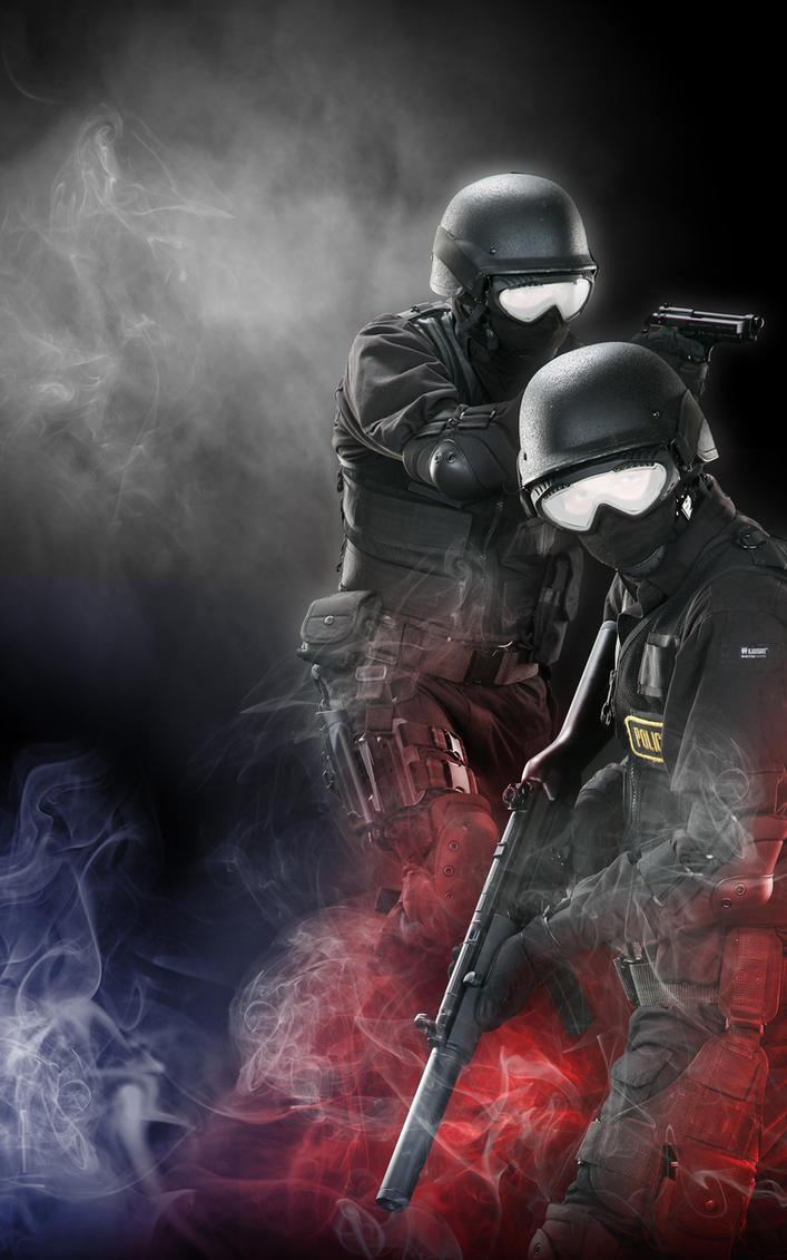 Police Desktop by Blaq-Unicorn