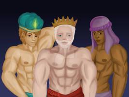 3 Reyes Magos by MarluCollis10
