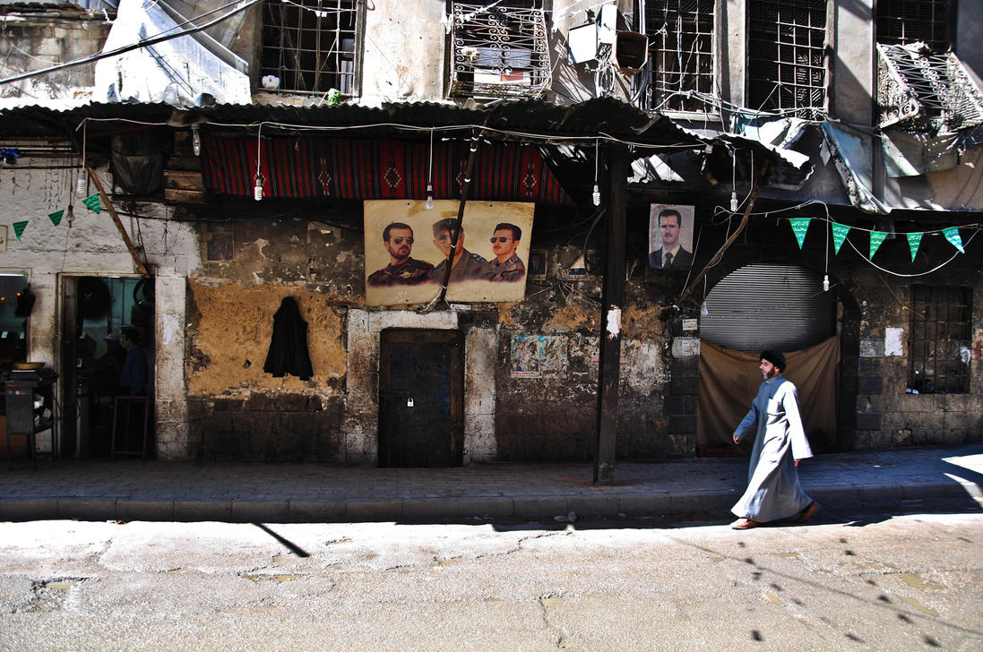 In the Streets of Damascus by DeviousClown