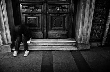 Left alone... by DeviousClown