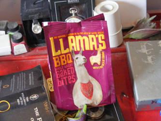 Llama snack by coppy-cat