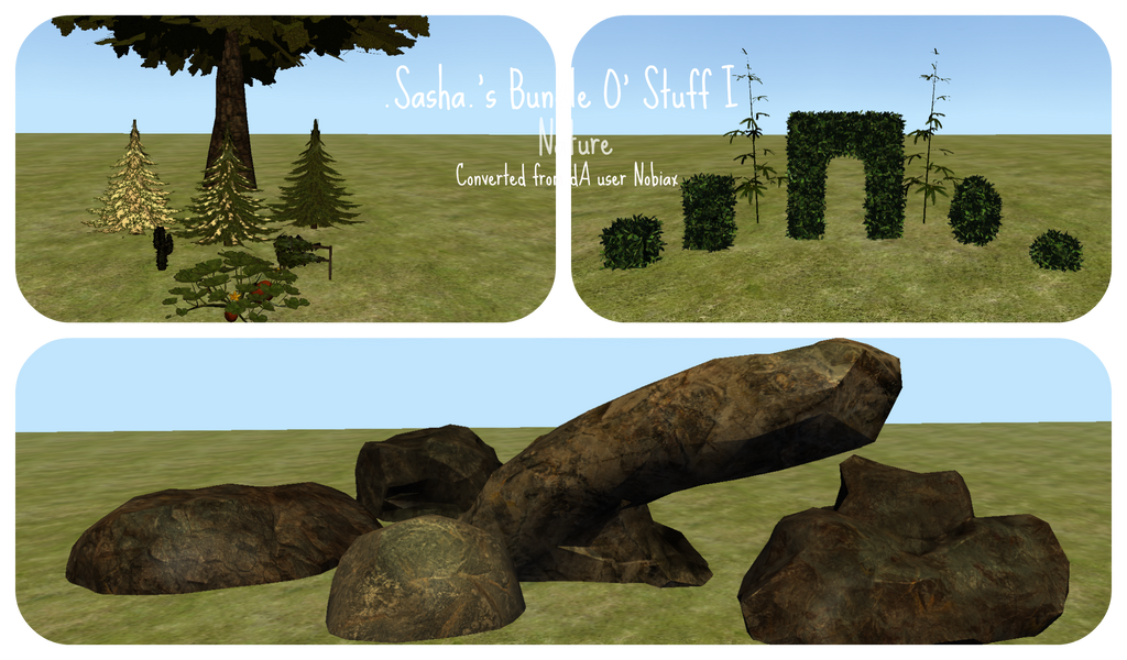 .Sasha.'s Bundle O' Stuff I [Nature] [+DOWNLOAD] by xPaper-Gangsta