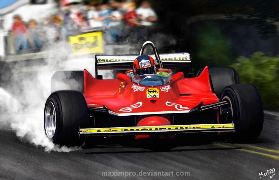 Gilles Villeneuve By Maximpro On Deviantart