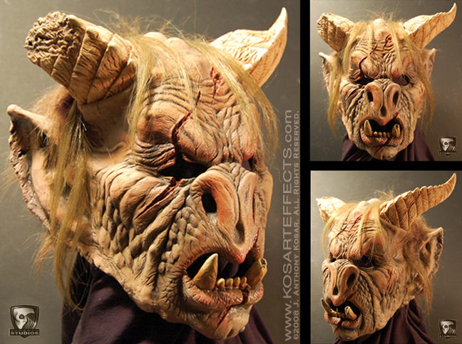 Gargoyle Mask by KOSARTeffects