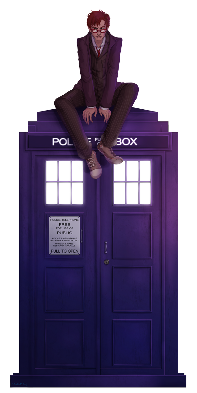 10th doctor by NadiaDibaj
