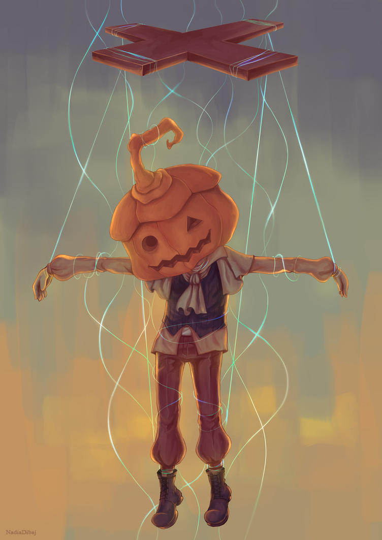 Pumpkin head by NadiaDibaj