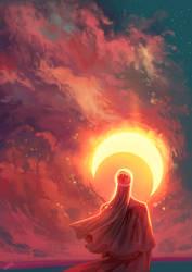 The moon of sun