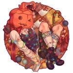 pumpkinHead for Christmas by NadiaDibaj