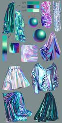fabric studies by NadiaDibaj