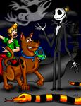 Scooby-Doo meets Jack Skellington