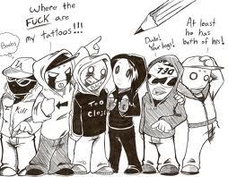 hollywood undead by SHAMANKING77